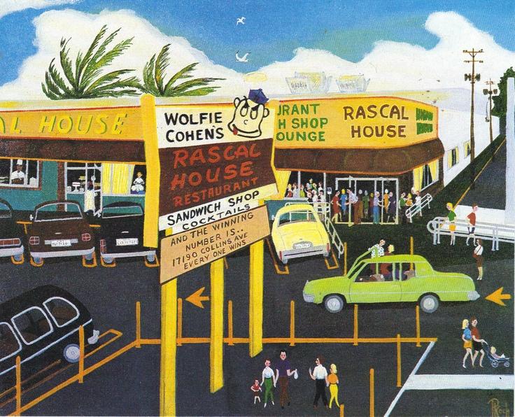 Rascal House Restaurant   Miami Beach in the 60's, 70's ...