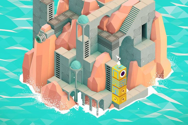 Monument Valley  #Smartphone #Games #Android #iOS