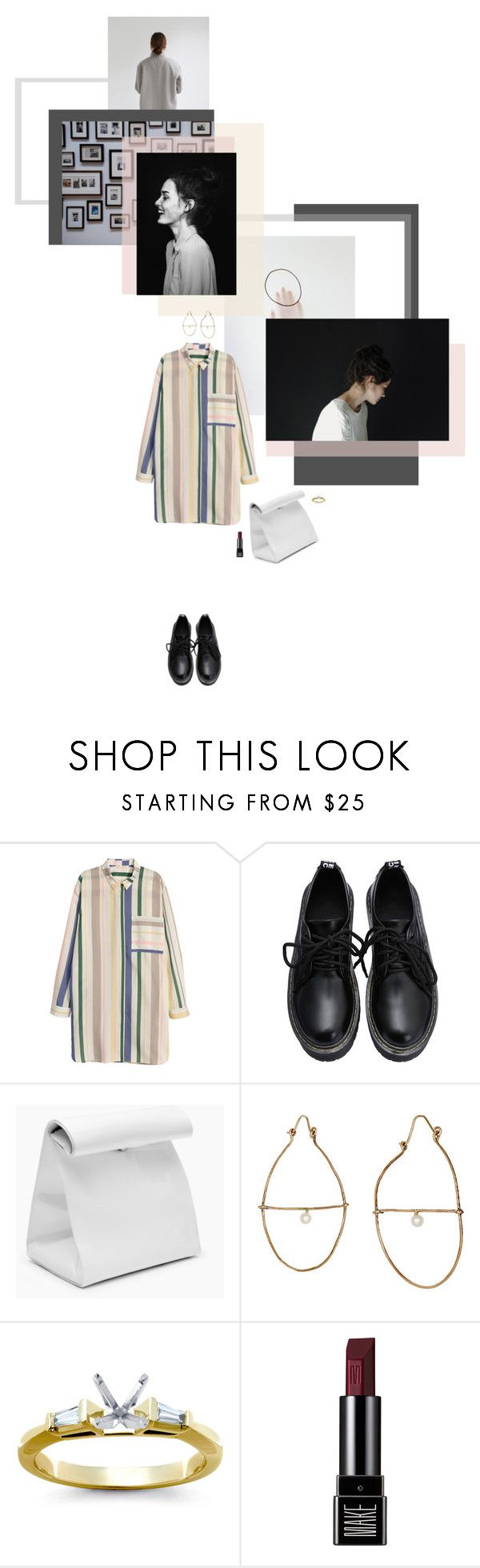 """""""we will carve our ways into time and space"""" by lanaii ❤ liked on Polyvore featuring Julie Wolfe, Blue Nile and Make"""