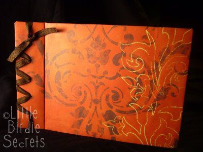 japanese book binding--love this for the genealogy book and/or the cookbook.