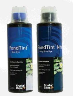 Pond Dye for your pond in blue or black Purchase from Riverdale Supply