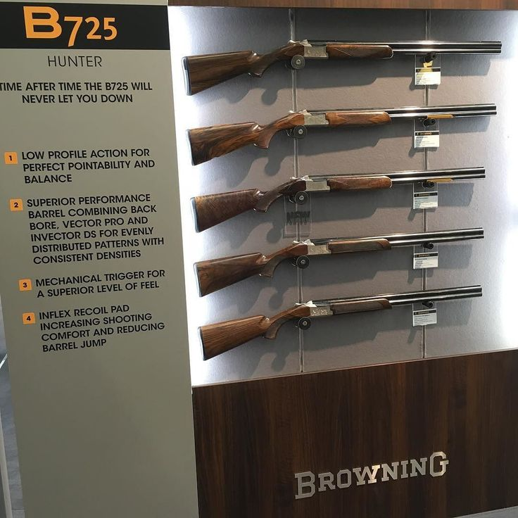 Colorado Shooting 2017: The Browning B725 See It At The British Shooting Show 2017