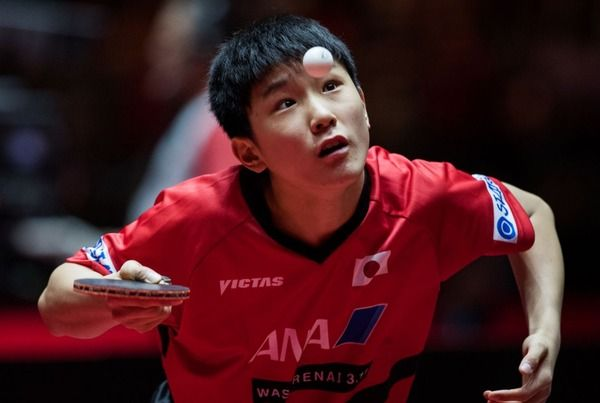 卓球・水谷隼、13歳の天才少年・張本智和に完敗「彼のためにも自分がさらに強くならないとね」