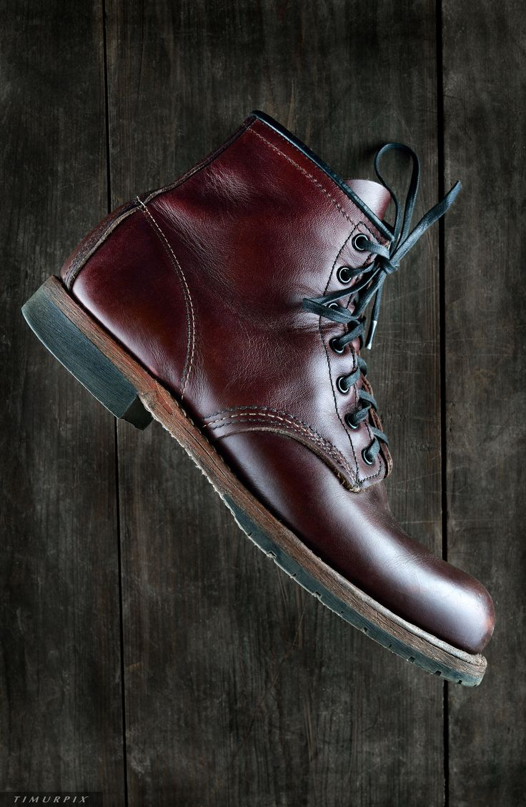RED WING Beckman 9011 Boots. Photo by: TIMURPIX