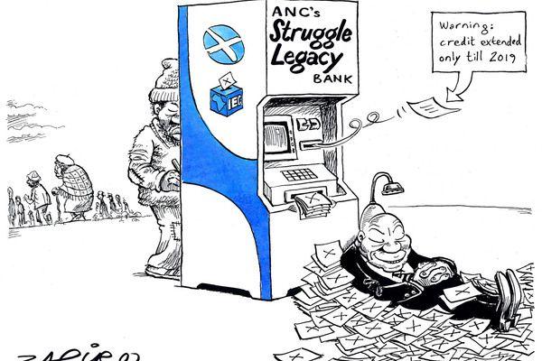Zapiro: Jacob Zuma, ANC and the 2014 elections - Mail & Guardian
