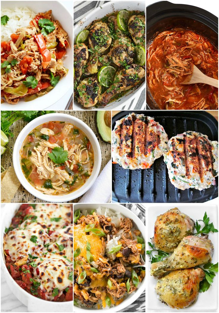 8 Low Carb Chicken Recipes to fit small budgets. BudgetBytes.com