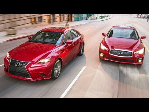 2014 #Infiniti Q50S vs 2014 #Lexus IS350 F-Sport! [Head 2 Head Episode 40]