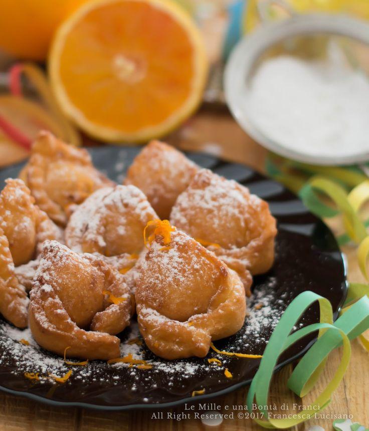 Tortelloni alla crema pasticcera al profumo d'arancia