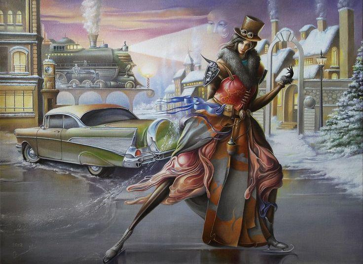 "2012 year ""Chevrolet for Lucrecia""  Oleg Osipoff Official Site: http://osipoff-art.com/"