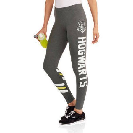 Juniors' Harry Potter Athletic Leggings, Size: Medium, Black