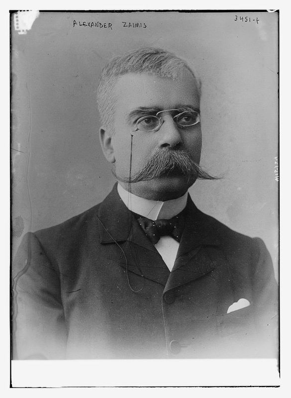 Stylish Facial Hair From the Early 1900's