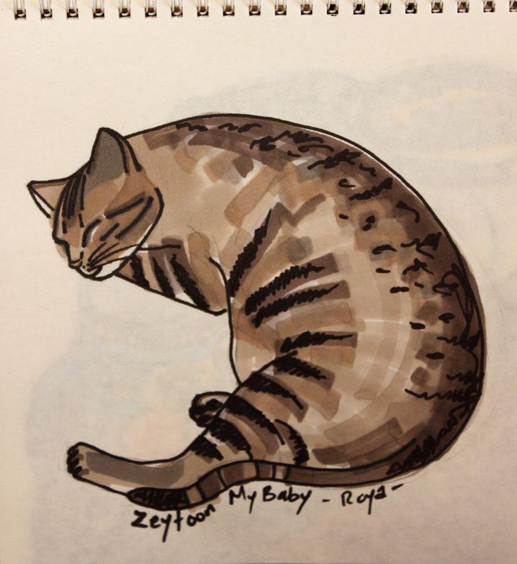 My baby Zeytoon by Roya Ebrahimy