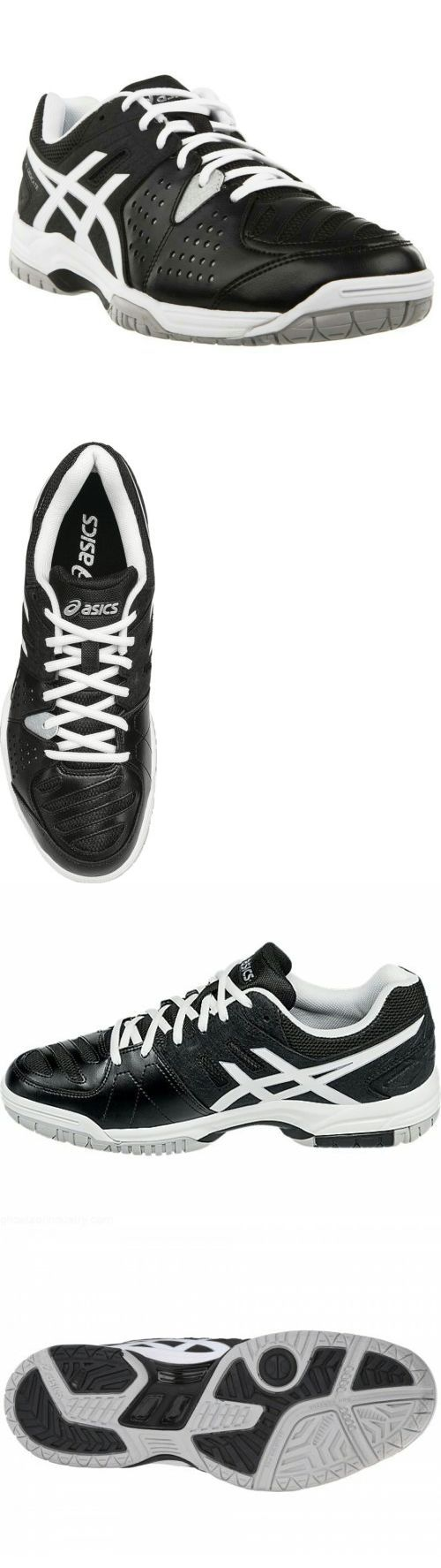 Shoes 62230: Asics Men S Gel Dedicate Tennis Volleyball Squash Shoes Size 11.5 Black White -> BUY IT NOW ONLY: $45 on eBay!