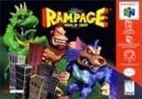 Rampage World Tour - N64 Game