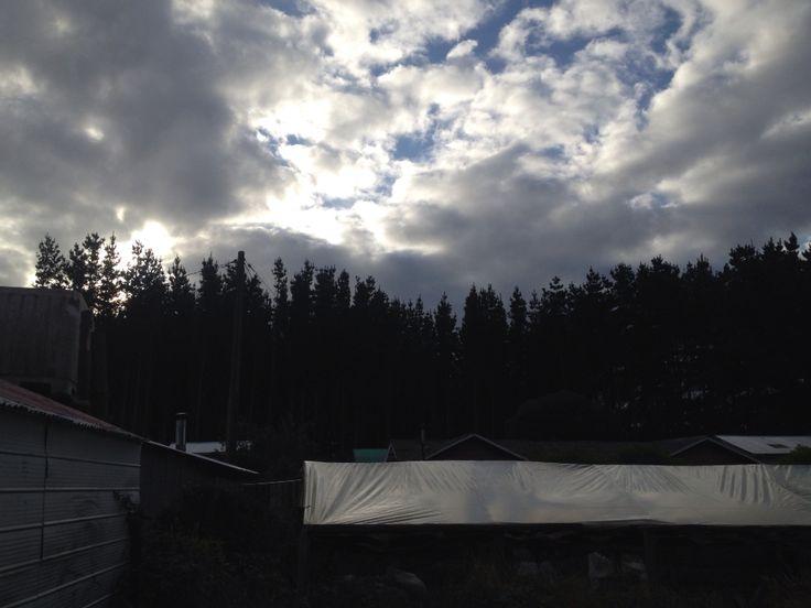 Nubes Corona,Chiloe