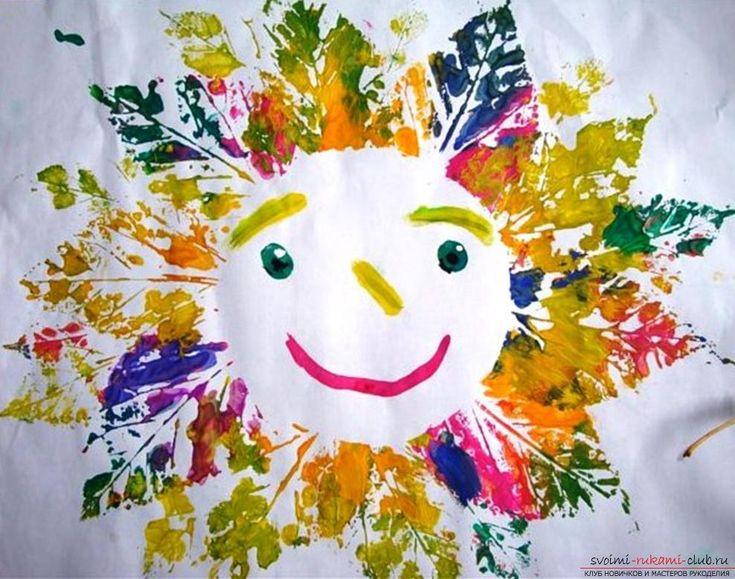 Нетрадиционные техники рисования для детей 2 - 3 лет. Фото №3