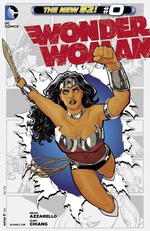 Wonder Woman The New 52 #0