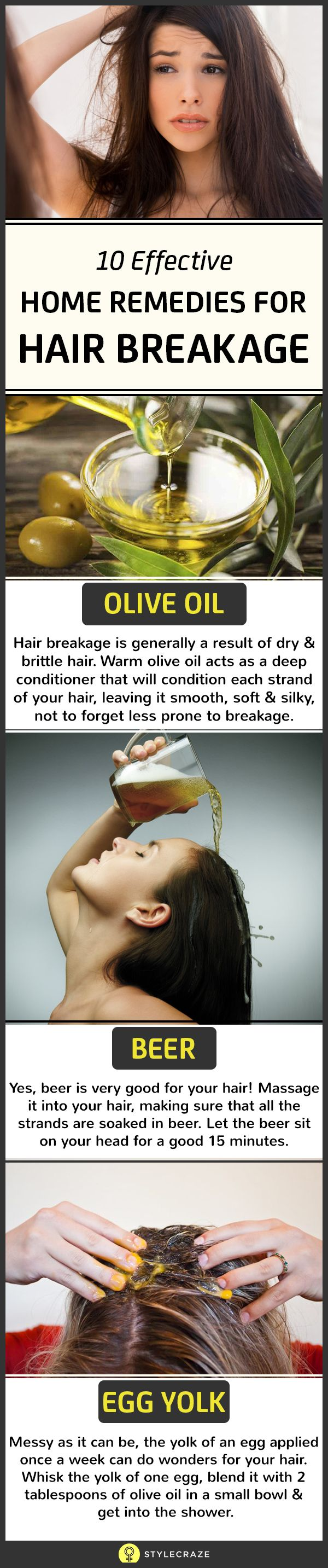 Hair breakage is perhaps one of the most common problems that plague men and women alike. People are often found discussing their hair fall woes! Many spend time and money on hair experts, in the hope of a cure. What most don't know is that there are several home remedies and tips that do work miracles.