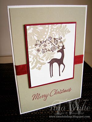 Tina White - Time to Ink Up - Independent Stampin' Up! Demonstrator Brisbane Australia: 12 Weeks of Christmas #8 - Dasher