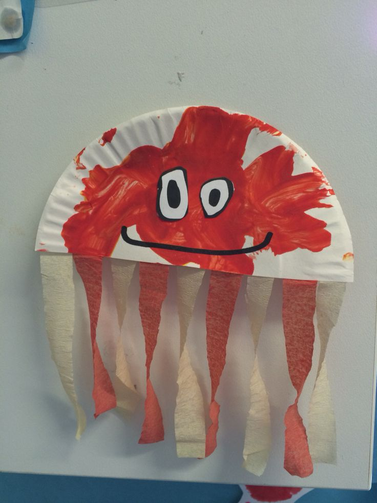 Octopus toddler craft for our under the sea theme