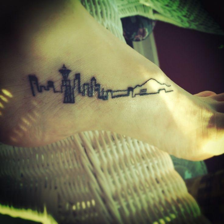 seattle skyline search tattoos