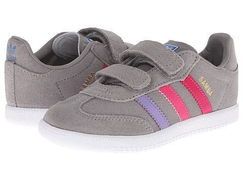 adidas Originals Kids Samba (Toddler) - Both my daughter and I would love these sneakers for gym class!
