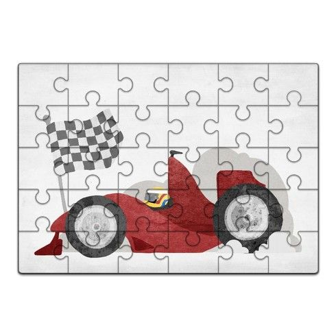 Race Car Jigsaw by stevensmith at zippi.co.uk