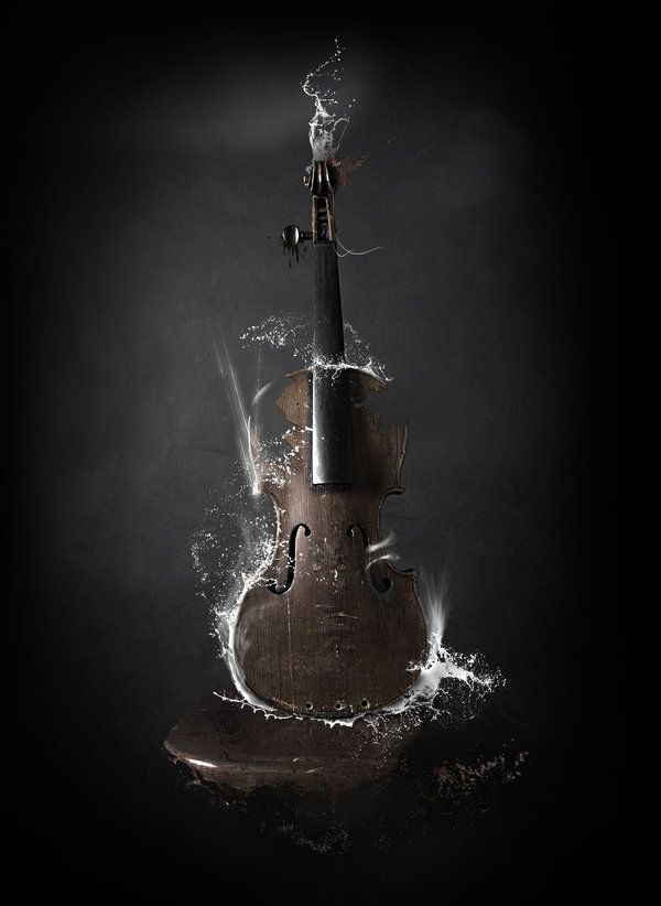 violen......................ce by CHIN2OFF.deviantart.comPhotomanipulation, Violin, Music Instruments, Photos Manipulation, Music Art Inspiration, Photo Manipulation, Digital Art, Graphics Design, Stefan Chinof