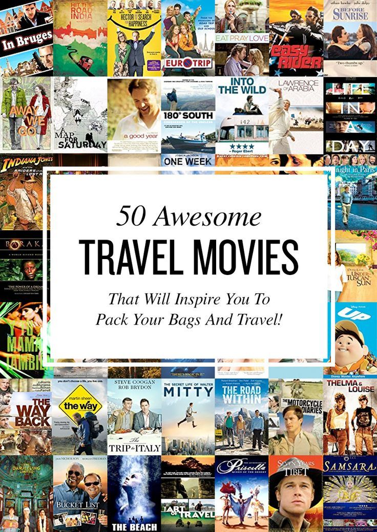 "Do you like to travel? Do you enjoy movies? From ""Under the Tuscan Sun"" to ""The Bucket List"", here are the best travel movies of all time.:"