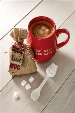 Hot Chocolate Mug from Next- Great present for those who enjoy a good hot chocolate curled up watching the TV