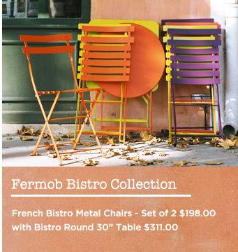 best Fermob Bistro Furniture  on Pinterest  Bistros