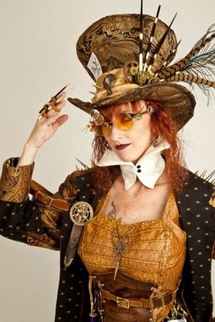 Lady Steampunk Mad Hatter