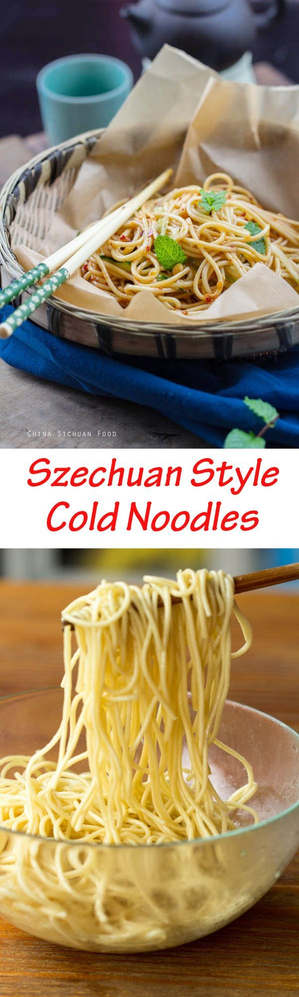 Szechuan Cold Noodles | China Sichuan Food