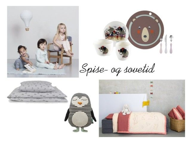 """""""spise og sove tid"""" by annemullewitt on Polyvore featuring interior, interiors, interior design, home, home decor and interior decorating"""