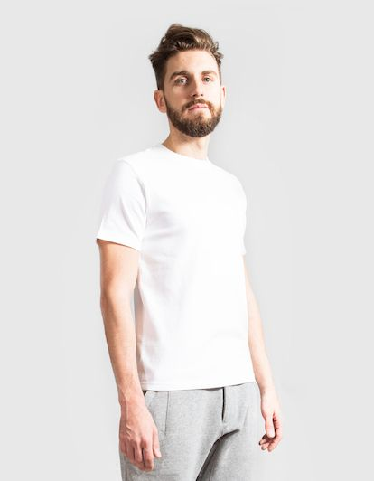 Camiseta de Algodon Light | Aeca White