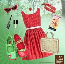 Strawberry Chocolaticas - Cool outfit for summer !!!