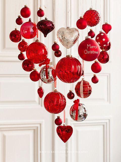 kerstboom versieren rode kerstdecoratie 4