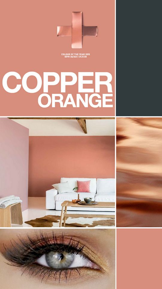 Copper Orange Colores 2015