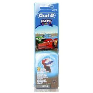 Oral-B Stages Power Cars Ανταλλακτικά βουρτσάκια 2τμχ