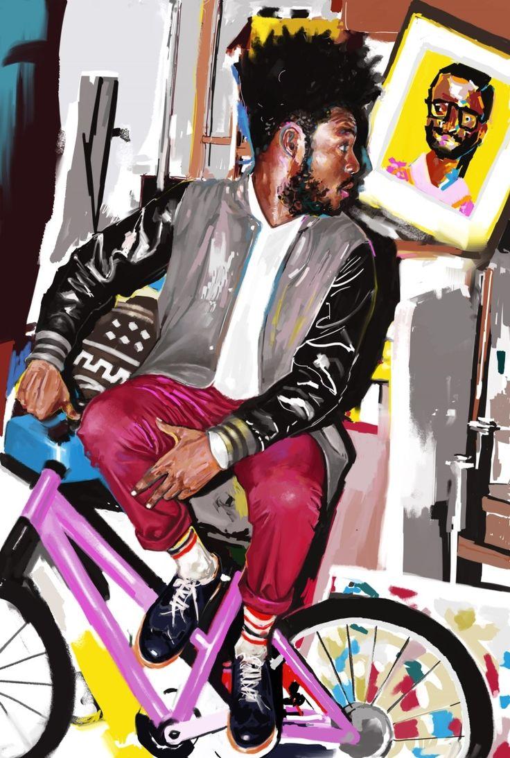digital painting art work by @2l.cat instagram -2l.cat #portrait #painting #digitalpainting #artwork #psychedelic #illust #art #kunst #neon #glitch #photo #snap #fashion #illust #digitalart