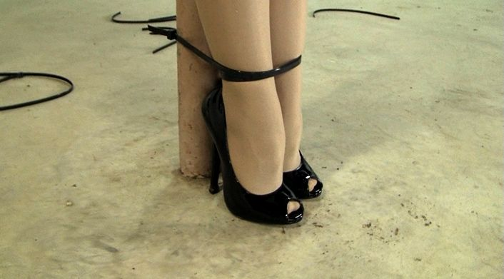 high heel bondage