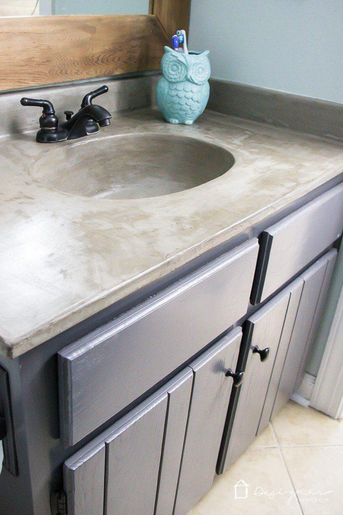You Can Update Your Bathroom Vanity Without Spending A Fortune