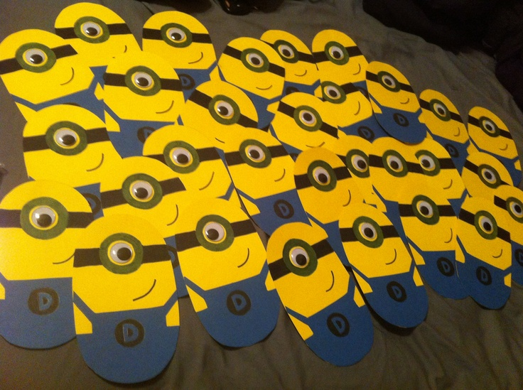Minion invitations!
