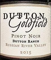 2015 Dutton Goldfield Dutton Ranch Pinot Noir Russian River Valley Usa Pinot Pinot Noir Russian River Valley