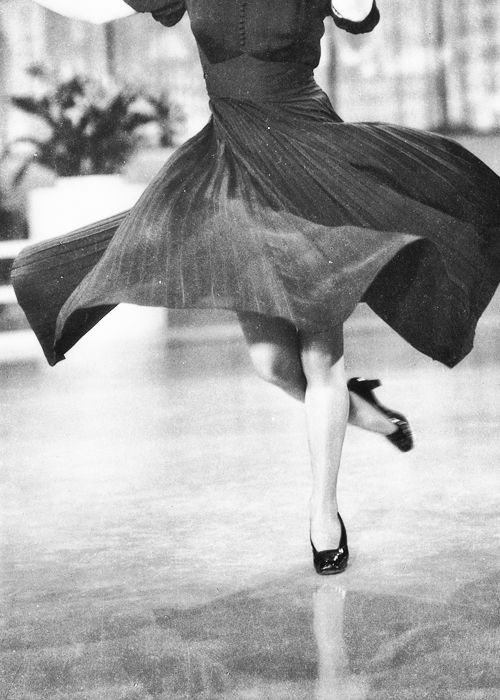 ginger rogers during the filming of swing time, 1936: as little girl i wished i could dance like this - als klein meisje wenste ik zo te kunnen dansen