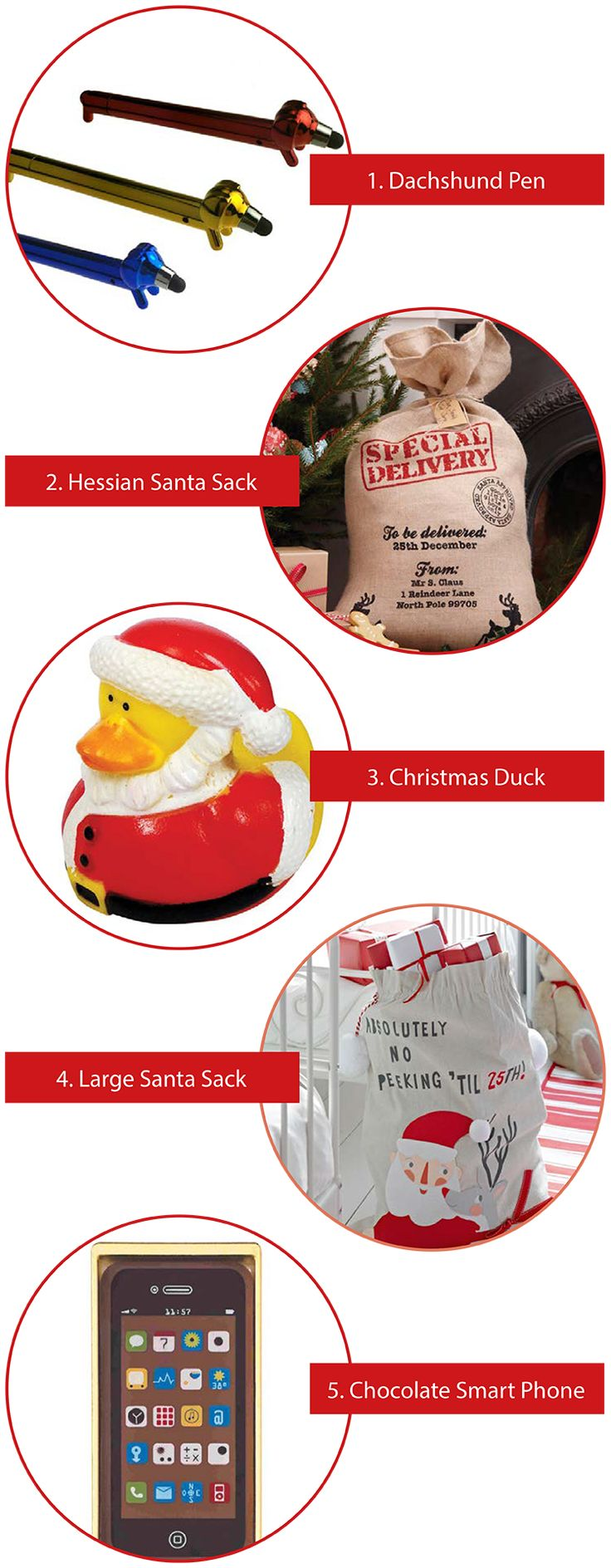 5 Favourite Christmas Sacks & Fillers - Party Pieces Blog & Inspiration