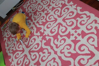 the chirping moms: Baby Girl Nursery RUG Reveal...featuring Rugs USA