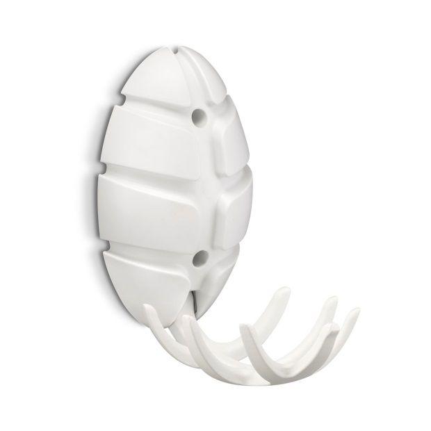 Spinder Design Bug Kapstok met Wit Metalen Haak - Wit - afbeelding 2