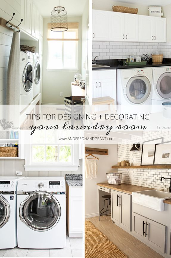 tips for designing and decorating your laundry room beautiful laundry rooms and a beautiful. Black Bedroom Furniture Sets. Home Design Ideas