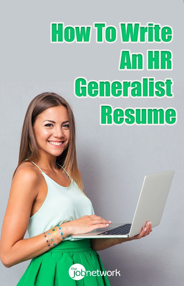 Human resources resume how to write an hr generalist